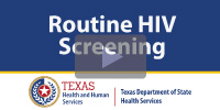 Routine HIV Screening