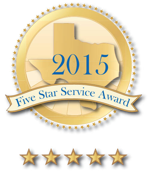 2015 Five Star Award Logo