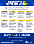 Mosquito-borne Disease Fact Sheet Thumbnail (English)