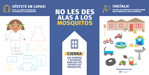 Mosquito Prevention Youth Education table display thumbnail (Spanish)