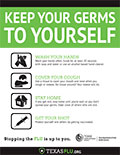 Keep Germs to yourself Thumbnail (English)