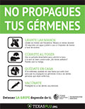 Keep Germs to yourself Thumbnail (Spanish)