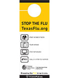 Stop the Flu Door Hanger thumbnail