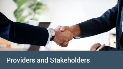 Providers and Stakeholders