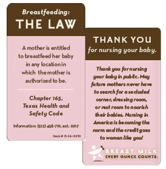 Breastfeeding Card