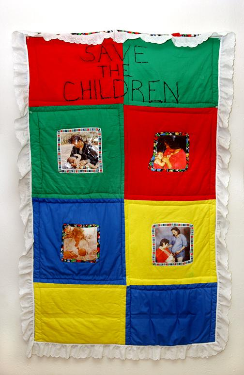 small photo of quilt promoting breastfeeding
