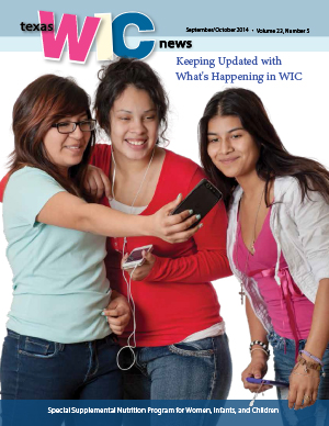 Smartphones for WIC: the featured article in the Texas WIC newsletter