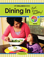 Dining In employee packet cover