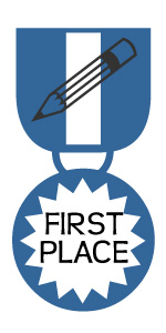 Medal - First Place Writing