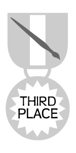 Medal - Third Place Art