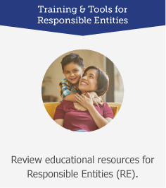 Training and Tools for Responsible Entities: Review educational resources for Responsible Entities (RE)
