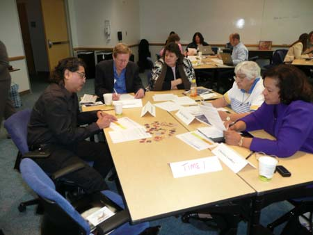 Photo of TNSPMP group discussion
