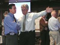 Thumbnail image showing TNSPMP team members participating in a group exercise