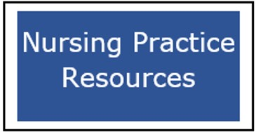 Button for the Nursing Practice Resources page