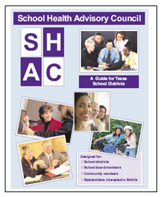 School Health Advisory Council 2007 Guide Cover