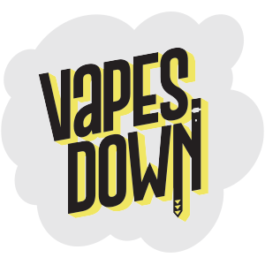 Vapes Down sticker