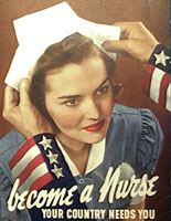Picture of a female nurse.