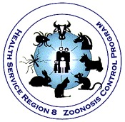 Health Service Region 8 - Zoonosis Control Program Logo