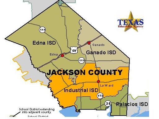 Jackson County Texas Map Texas Department of State Health Services, Region 8 Jackson County Map