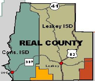 Real County Map