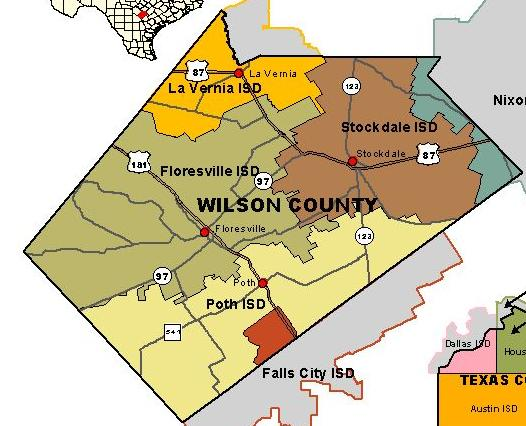 Wilson County Map